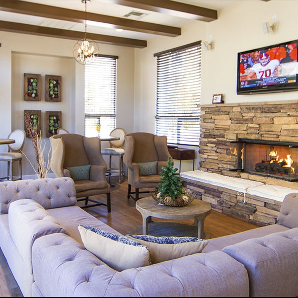 Boulders Clubhouse Fireplace